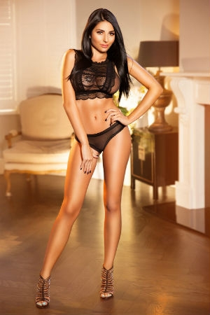 A professional image of Jojo from Movida escorts